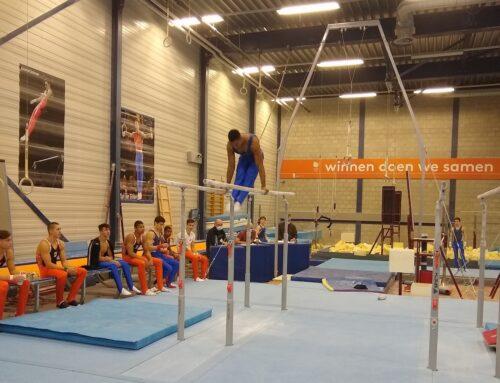 1e interne wedstrijd Nederlands Herenteam in Den Bosch